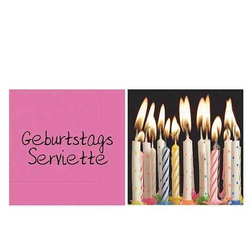 - Gute Laune Serviette für Dich :- Geschenk 20 Servietten